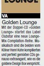 Golden Lounge Review, SMAG CLUBLIFE MAGAZIN, July 2013