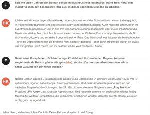 Interview on Wegotmusic.de 3/3
