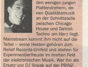 PRINZ Köln, Januar 1997