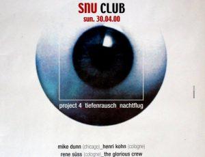 SNU Club, Nachtflug Cologne, 30.4.2000